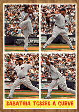 2011 Topps Heritage #315 CC Sabathia IA New York Yankees