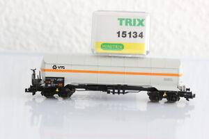 N MINITRIX 15134 VTG Gas Kesselwagen Waggon Güterwagen boxcar OVP J55