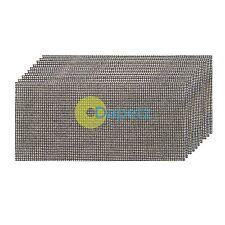 Mesh Sanding Sheets 93 X 230mm 10Pk 4 X 40G, 4 X 80G & 2 X 120 Grit New