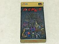 Shin Megami Tensei from Japan Nintendo SFC Super Famicom SNES NTSC-J JP CIB Box