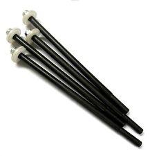 L11493V1 1/8 Escala Golpes Amortiguador Pistón Eje Arandela absober x4 90mm 4mm Negro