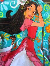 "New Disney/Jumping Beans Beach Towel Cotton 28"" X 58"" Elena Avalor Print Tags"