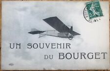 Aeroplane/Airplane in Bourget 1915 French Aviation Postcard, Pioneer-Era