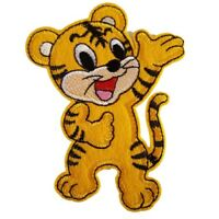 Cute Tiger Tiger Cub Iron On Patch Sew on Embroidered transfer New