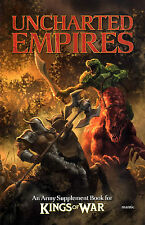 Mantic Games Kings of War Uncharted Empires Army Supplement Book New