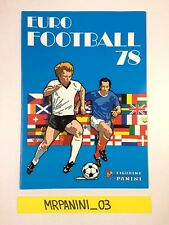 EURO FOOTBALL 78 - Panini 1978 - Album Vuoto-Empty - OTTIMO-VERY GOOD