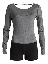 Roxy Fitness Medium Clothing Keep Calm Long Sleve  Jumper Retail $78.00