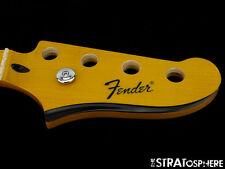 "Fender Modern Player Starcaster Bass NECK Guitar Parts 9.5"" Radius Maple SALE"