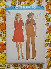 SIMPLICITY 7153 sewing pattern FACTORY FOLD 1979 vintage UNUSED retro maternity