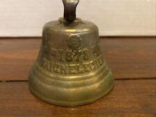 Antique 1878 Saignelegier Chiantel Fondeur Swiss Brass Cow Bell