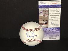 Edmundo Sosa St Louis Cardinals JSA COA Debut Autographed Signed Baseball E
