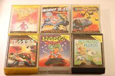 RARE Sinclair Spectrum 48k Games Pack (sei giochi in questo lavoro LOTTO) in scatola anni 1980