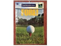 Fore! Golf Decorative Garden Flag