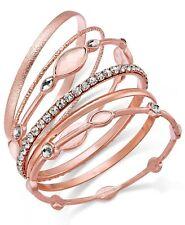 Bangle Bracelet Set J99 Inc 6-Pc. Crystal