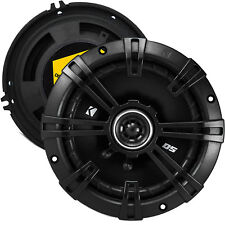 "Kicker 1-PAIR 5.25"" DS Series 200W Peak / 50W RMS 2-Way Coaxial Car Speakers"