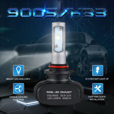 2X 9005 LED Headlight High Beam For Ford F-150, Edge 2015-2017, Fiesta 2011-2013
