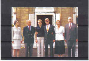 BELGIUM 1999 prince filip  M/S MNH** blok 82