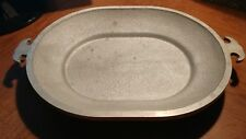 Guardian service aluminum cookware oval serving tray