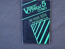 Roland D-50 / Roland D-550 Voice Crystal-5  ---WORLDWIDE SHIPPING---