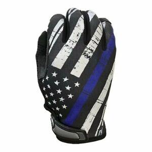 Industrious Handwear Blue Line Flag - Unlined - Full Finger Gloves - IH-BLF-XLG