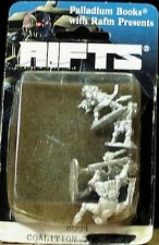 RIFTS 25mm figure: Coalition troops;  #8004; in Mint condition