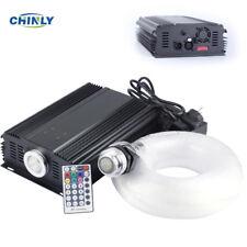 LED Fiber Optic Stars Ceiling Kit Light DMX 512 RGB 75W Remote 5m 1000pcs 0.75mm