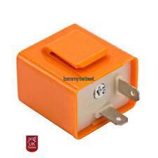 2 Pin Velocidad ajustable LED Indicador Intermitente Relé Resistor Motocicleta