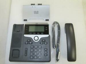 *Lot Of 4* Cisco CP-7841-K9 4-Lines IP Phone VoIP Display Phone