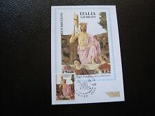 ITALIE - carte 1er jour 10/3/2000 (cy17) italy
