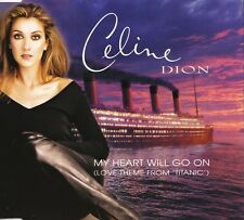 Celine Dion - My Heart Will Go On - Film Soundtrack von Titanic - Maxi Single CD