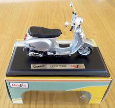 Maisto VESPA scooter modello, 1:18 modello pressofuso scooter, vespa Lx 125 modello