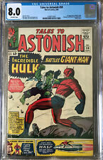 Tales to Astonish 59 CGC 8.0 Hulk Ant-Man Marvel 1964