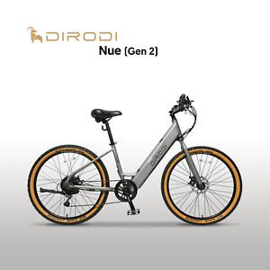 DIRODI NUE UNISEX ELECTRIC BIKE EBIKE BICYCLE 70K RANGE TEKTRO BRAKE VELO SADDLE