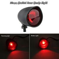 Rot LED Mini Motorrad Bullet Rücklicht Bremslicht Heckleuchte Laufendes Lampe