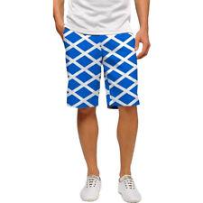 Loudmouth Golf para hombres jox-S frente plano pantalones cortos nuevo