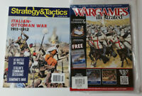 Strategy & Tactics Italian-Ottoman War 1911-1912 + War Games Illustrated Magazin