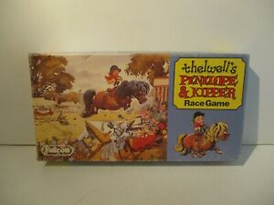 RARE VINTAGE THELWELLS PENELOPE & KIPPER RACE GAME C.1987 FALCON GAMES VGC COMP