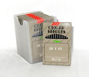 100 ORGAN DBXK5 SIZE#12 INDUSTRIAL EMBROIDERY MACHINE NEEDLES for TAJIMA, SWF
