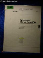 Sony Bedienungsanleitung TA FE910R /FE710R /FE610R Amplifier (#1809)