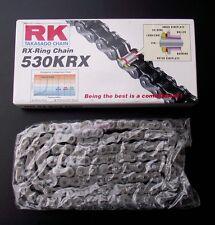 chaîne RK 530 KRX ,106 membres,YAMAHA FZR 600,Fzr600,3HE,couleur acier,chaine