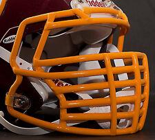 JUSTIN TUCK style Riddell Revolution SPEED Football Helmet Facemask - GOLD