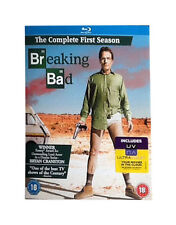New Sealed, Breaking Bad Season 1 One Blu Ray With Slipcover, First Series