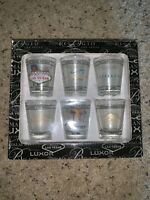 Las Vegas Casino Hotel Shot Glass Collection Vintage Open Box Brand New NIOB