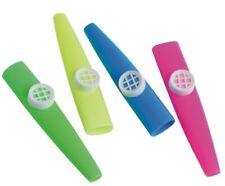 """12 - Plastic Large 4"""" Kazoos"""