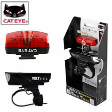 Cateye Cycling Bike Lamp VOLT100+RAPID mini Red Light Set USB-rechargeable