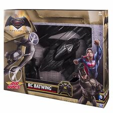 Air Hogs Batman v Superman RC Batwing R/C Remote Control Plane 2.4 GHZ NEW!