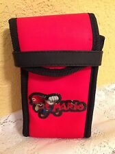 NINTENDO SUPER MARIO GAMEBOY DS CASE SWITCH N CARRY VIDEO GAME HOLDER
