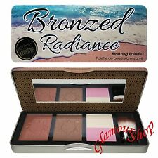 Technic Bronzed Radiance Large Bronzing Palette Compact Bronzers Duo Highlighter