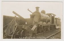 More details for yorkshire (west) postcard - g.c railway smash, wombwell, dec 19th 1911 (a36)