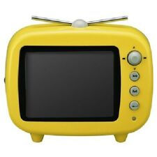 digital photo frame 3.5 inch TV type yellow GHV-DF35TVY GREEN HOUSE w/Tracking#